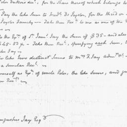 Document, 1815 November n.d.
