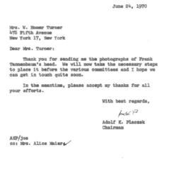 Correspondence, 1970-06-24....
