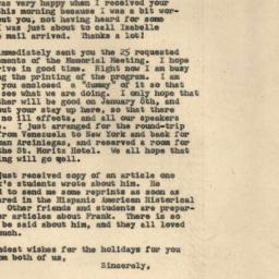 Correspondence, 1969-12-10....