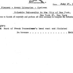Correspondence, 1971-07-27....