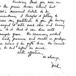 Correspondence, 1970-01-09....