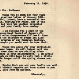 Correspondence, 1970-02-11....