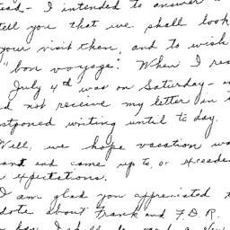 Correspondence, 1970-09-04....