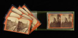 View of case, open with cards fanned out
