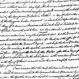 Document, 1785 October 29