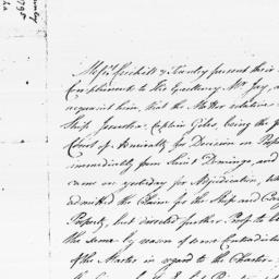 Document, 1795 January 28