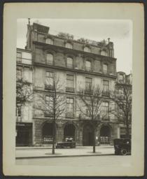 Le Centre Européen de la Dotation Carnegie pour la Paix Internationale Headquarters in Paris