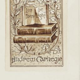 Bookplate Design for Andrew...