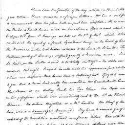 Document, 1781 January 10