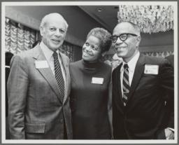 Barbara and Ulysses Kay, with William Schuman