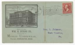 Wm. H. Burns Co.. Envelope - Recto