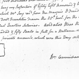 Document, 1781 July 31
