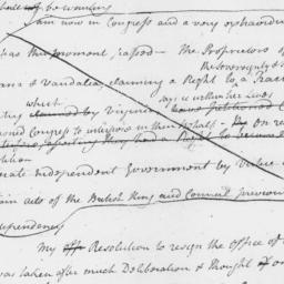 Document, 1779 September 16