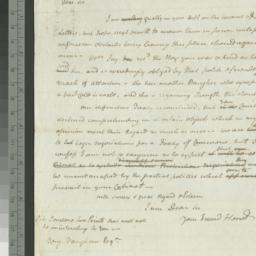 Document, 1783 September 13