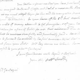 Document, 1781 January 29