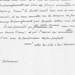 Document, 1782 March 10