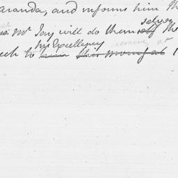 Document, 1782 June 29
