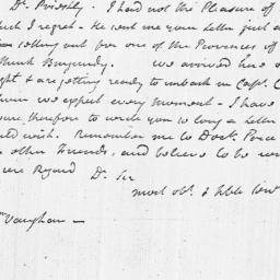 Document, 1784 May 25