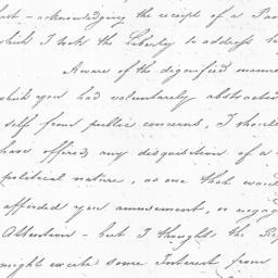 Document, 1822 December 01