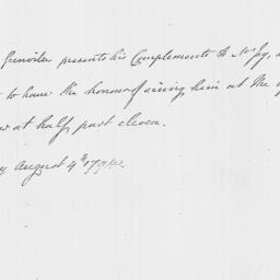 Document, 1794 August 04