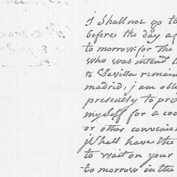 Document, 1782 March 11