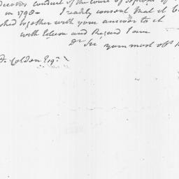 Document, 1801 October 12