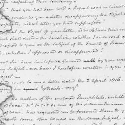 Document, 1817 November 12