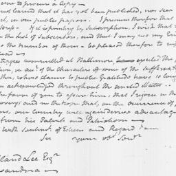 Document, 1812 September 07