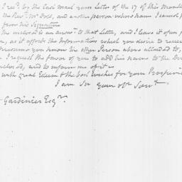 Document, 1809 June 26