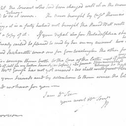 Document, 1781 March 29