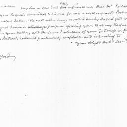 Document, 1822 June 24