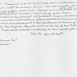 Document, 1821 November 12