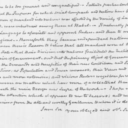 Document, 1821 February 13