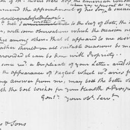 Document, 1819 January 28