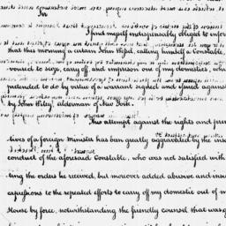Document, 1788 January 4