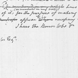 Document, 1796 January 13
