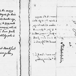 Document, 1775 November 07