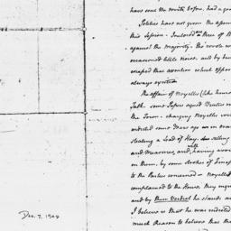 Document, 1772 March 23