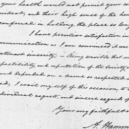 Document, 1819 July 02