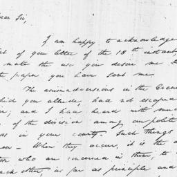 Document, 1813 May 26