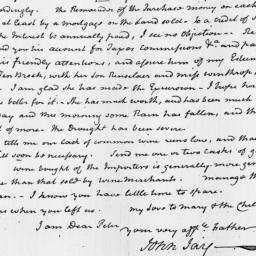 Document, 1819 August 17