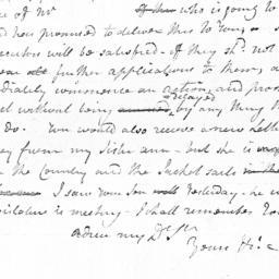 Document, 1784 October 06