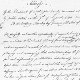 Document, 1798 August 9