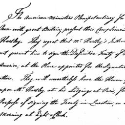 Document, 1783 August 30