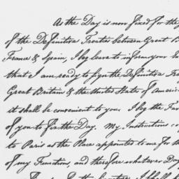 Document, 1783 August 29