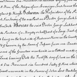 Document, 1685 February 07