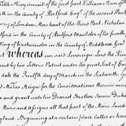 Document, 1676 July 01