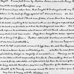 Document, 1825 January 10
