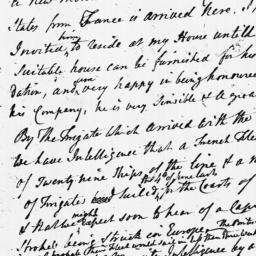 Document, 1779 August 05