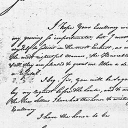 Document, 1779 January 06